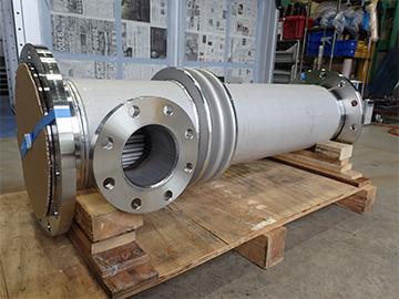 多管式熱交換器(シェル&チューブ型)