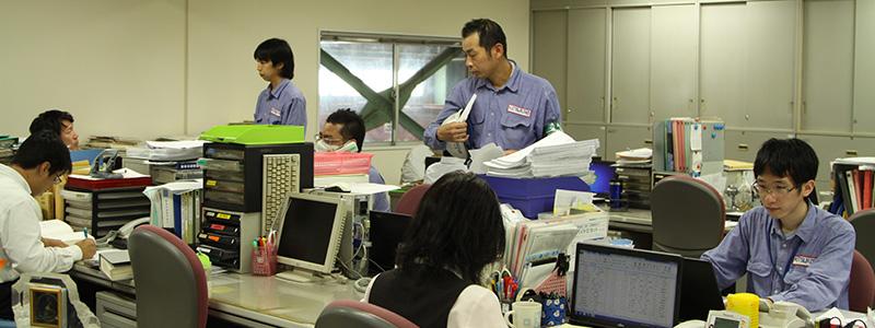 勝川熱工株式会社の代表挨拶、経営理念、品質方針について