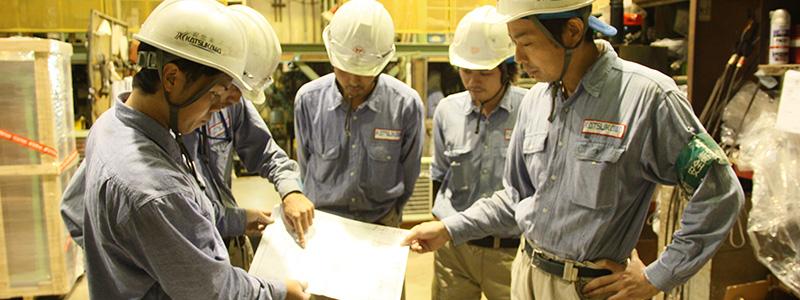 自動車や半導体の製造現場で使用される熱交換器