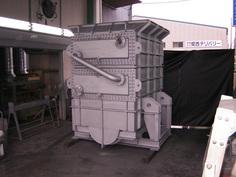 溶剤回収用熱交換器 特殊用途熱交換器