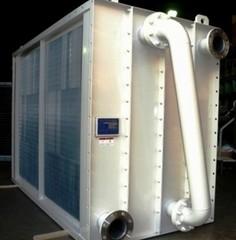 プレートフィンクーラー 冷却・除湿装置用熱交換器
