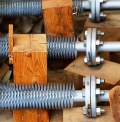 再生可能エネルギーへの熱交換器使用例