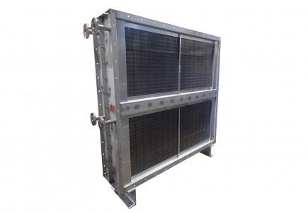 プレートフィンヒーター 加熱・乾燥装置用熱交換器